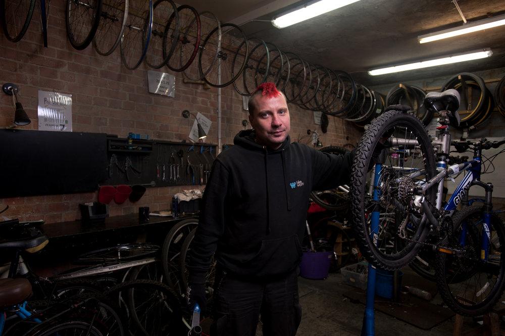 Tomas, The Bike Mechanic