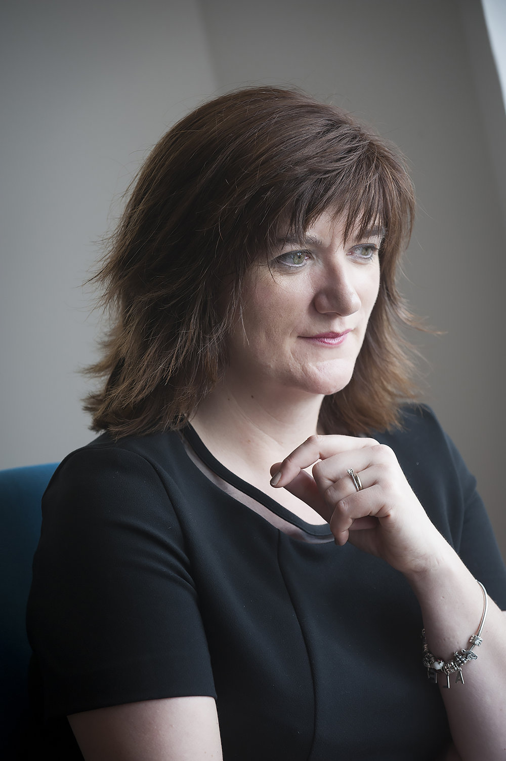 Portrait photography of Nicky Morgan, Conservative MP and former Secretary of State for Education