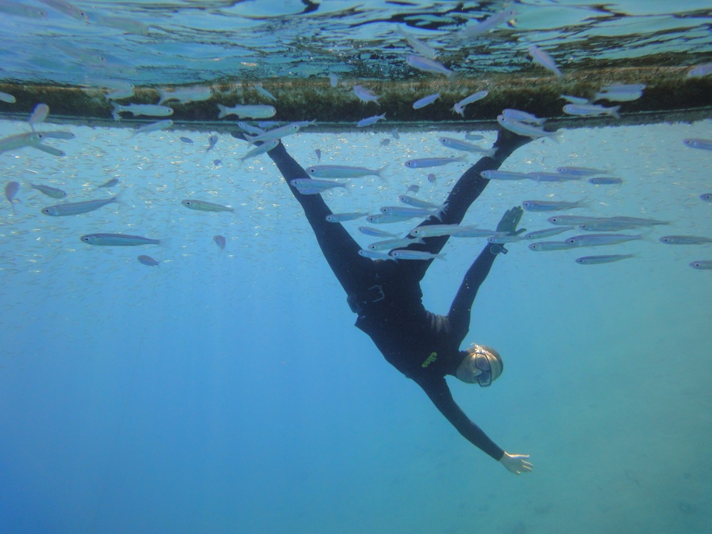 The Art of Underwater Yoga with Sara Campbell