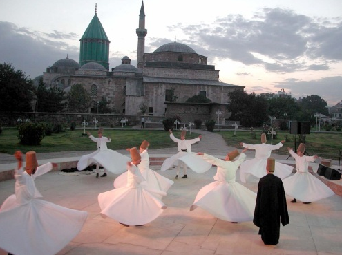 Rumi's tomb in Konya, Turkey