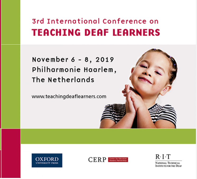 3rd International Conference Teaching Deaf Learners, Haarlem, the