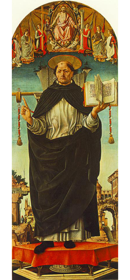 St Vincent Ferrer by Francesco del Cossa