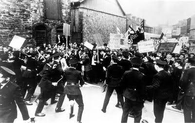 The 1968 march in Derry which ended in violence referred to in the novel