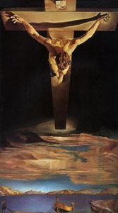 'Christ of St John of the Cross' by Salvador Dali