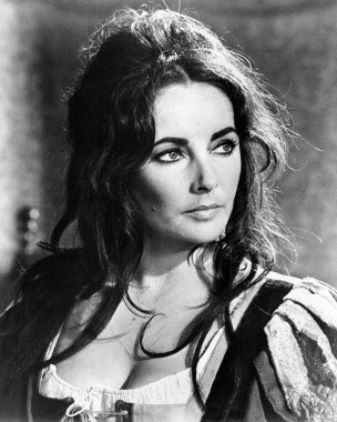 Elizabeth Taylor as Katharina in Zeffirelli's 'Taming of the Shrew'