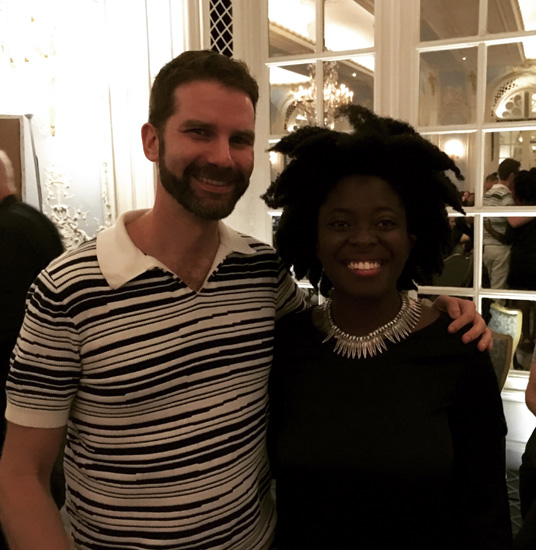 I had the pleasure of meeting Yaa Gyasi last September at a literary salon in The Savoy.