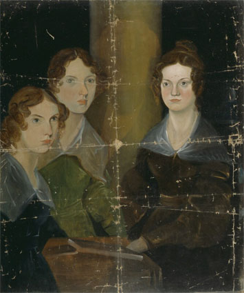 Branwell's portrait of the Bronte sisters