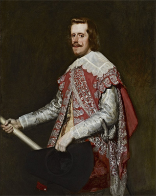 Philip IV of Spain painted by Velazquez