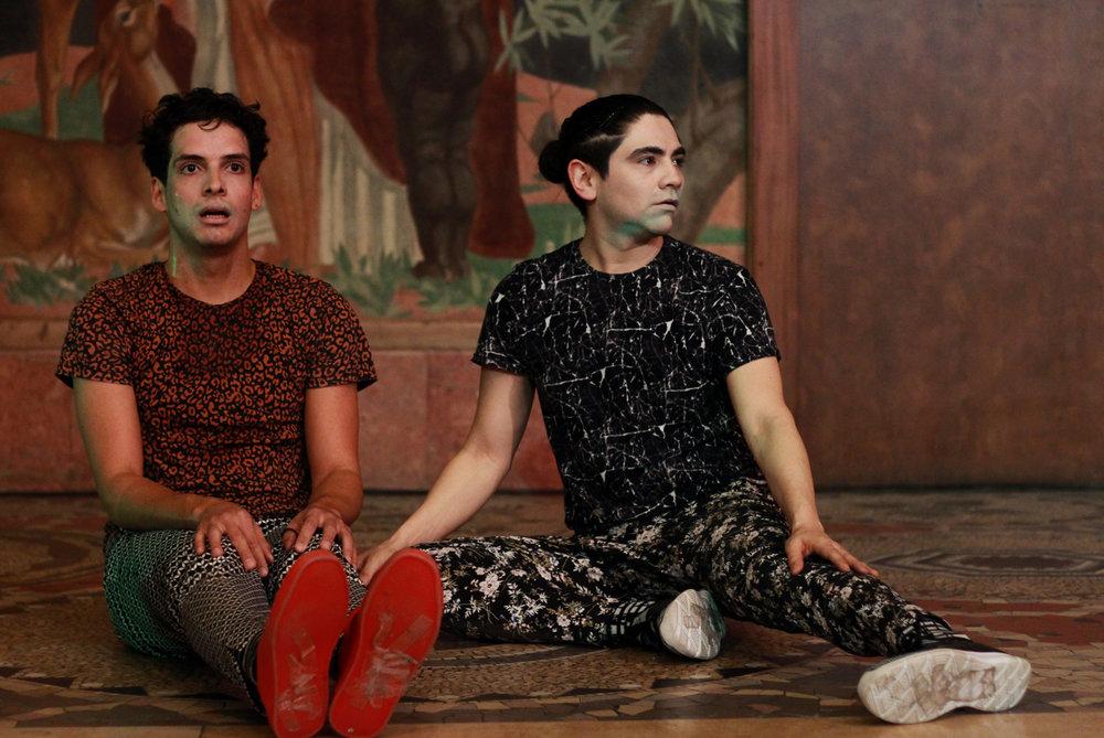 Och F & René gjorde  en sjukt fin koreografi.