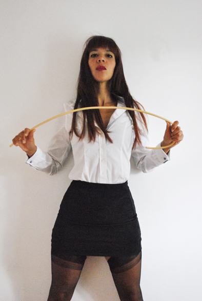 Francesca Harding. London caning and hand spanking and over the knees spanking Mistress. Kings Cross.