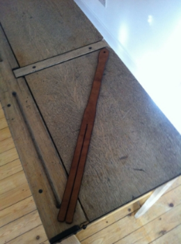 My beautiful, and authentic Scottish tawse perfect for naughty boy punishment.