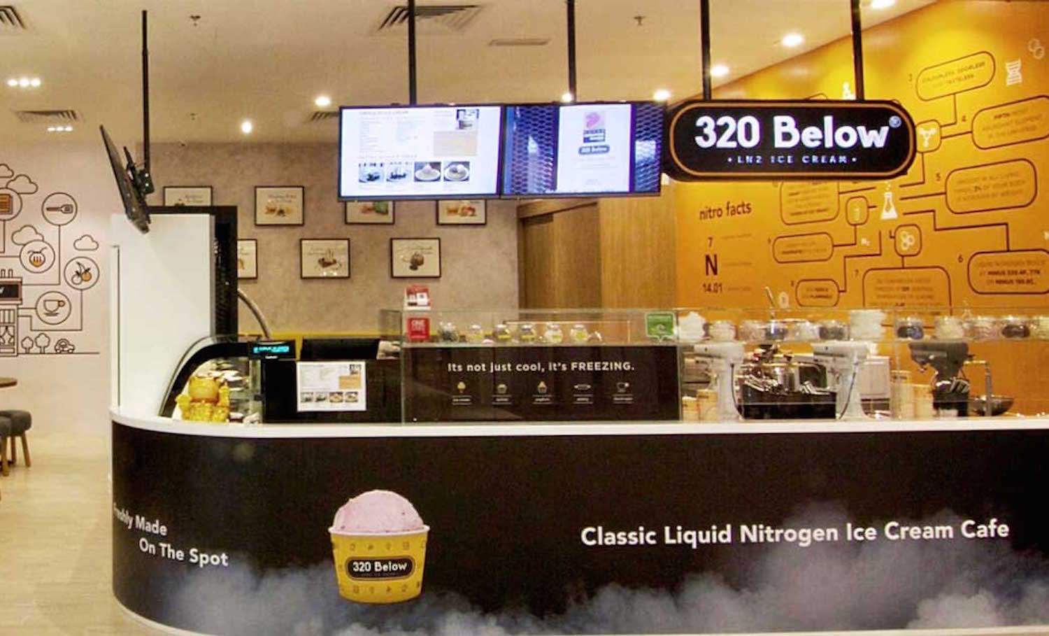 Franchise Discovery Day 320 Below Nitro Cream Cafe 20th Aug 2015 Singapore