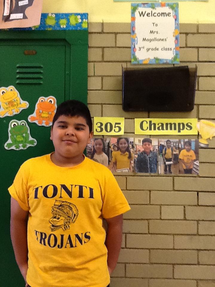 3rd Grade - Carlos H.