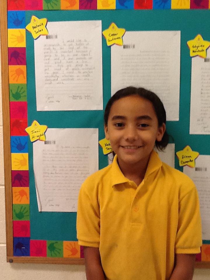 5th Grade - Imani A
