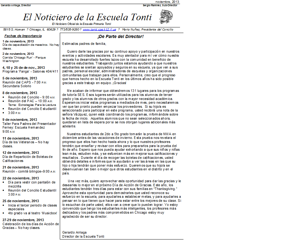 November 2013 Spanish.png