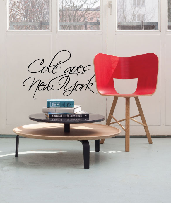 Colé Italian Design Label  _ will exhibit at DesignJunction NY. Our Tria chair hits New York! // 15-18 May 2015