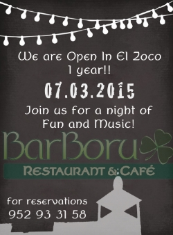 Barboru 1st Birthday at El Zoco¡¡