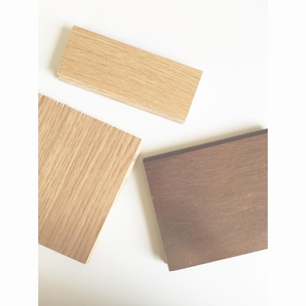 my favorite wood flooring: natural quarter sawn white oak or american walnut #love#woodflooring#hardwoodfloors