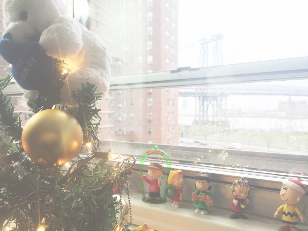 Happy lower east side holidays with the peanuts!