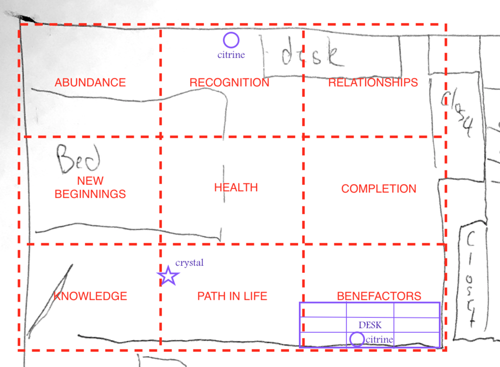 Feng Shui for a Yoga Teacher - Bedroom Floor Plan.png