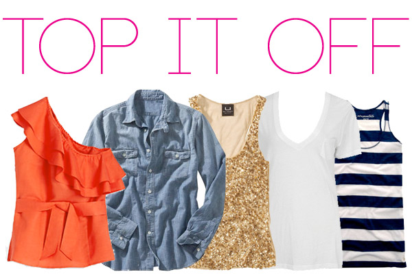 top it off - the perfect tanks and tees for travel