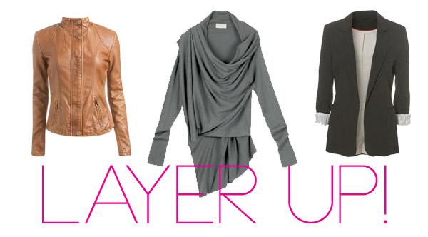 layer up! jacket cardigan blazer
