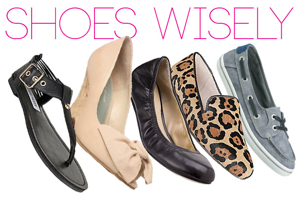 shoes wisely - shoes that won't work you