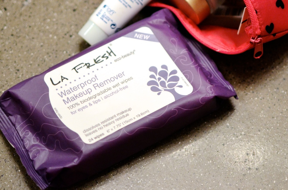 Waterproof Makeup Remover Wipes from LA Fresh