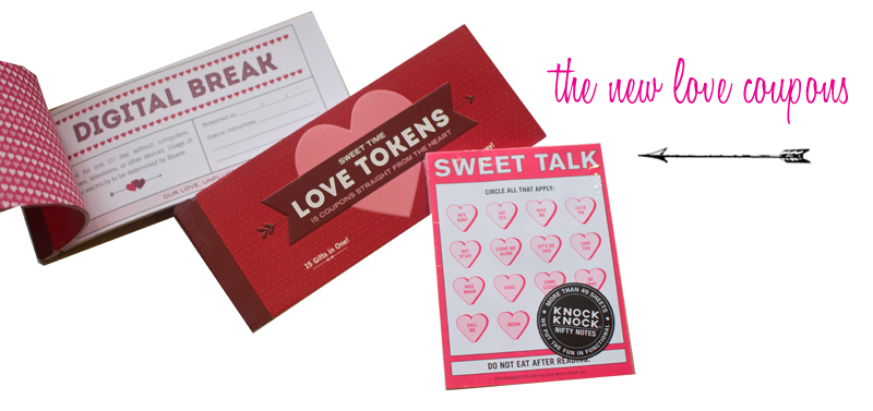 For the romantics out there, Francesca's had an entire table of love themed gifts! I used to make love coupons when I was a kid, so this grown up version is a fun option for the guy or girl in your life.  (Love Tokens, $7. Sweet Talk Pad, $6. Both available at  Francesca's .)