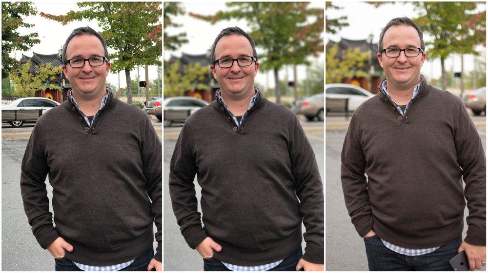 iPhone 7 Regular // iPhone 7 Portrait Mode // Nikon D5200