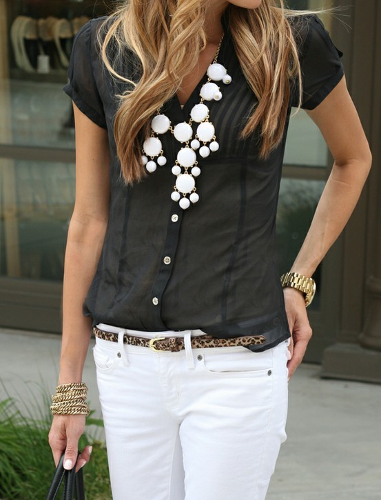 candy washington_jeans_statement necklace