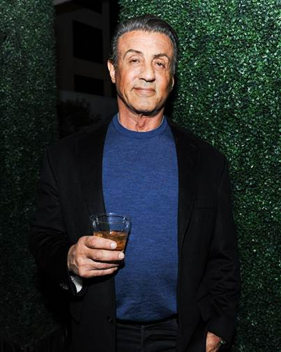 Actor   Sylvester Stallone attends the Nicole Frank Clothing Launch