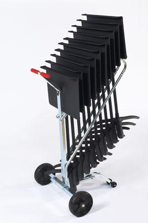 DYMS10 Music Stand Dolly for 10