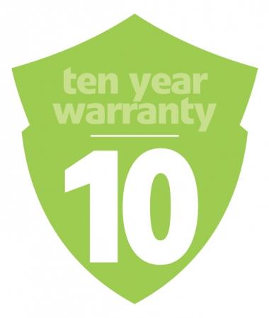 TEN YEAR Warranty !