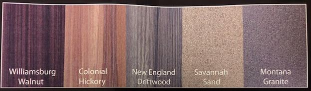 PREMIUM LAMINATE FINISHES AVAIL ON PX MODELS