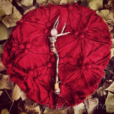 Rose Quartz Orb Mystic Mineral Faerie Wand