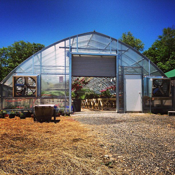 Greenhouse program at Tucker County Highschool