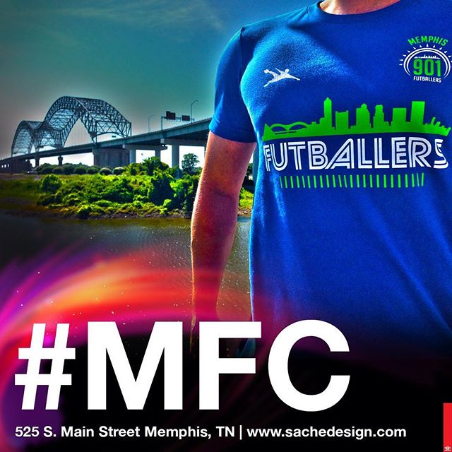 Now available in-store & online #MFC #polish #dynasty #somersaults #richardbute #coachbute #bute #sache #tshirtmachine #shirthappens #memphresh #memphresh901 #downtownmemphis #soccer #901soccer #memphissoccer