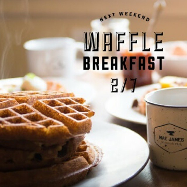 We waffle so you don't have to. #withoutfail