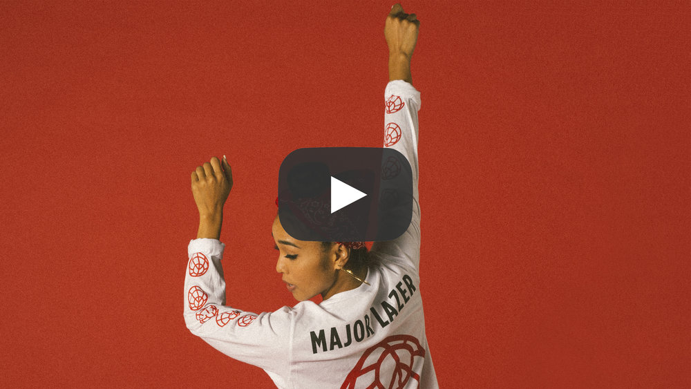 Major Lazer Merch Video Lookbook