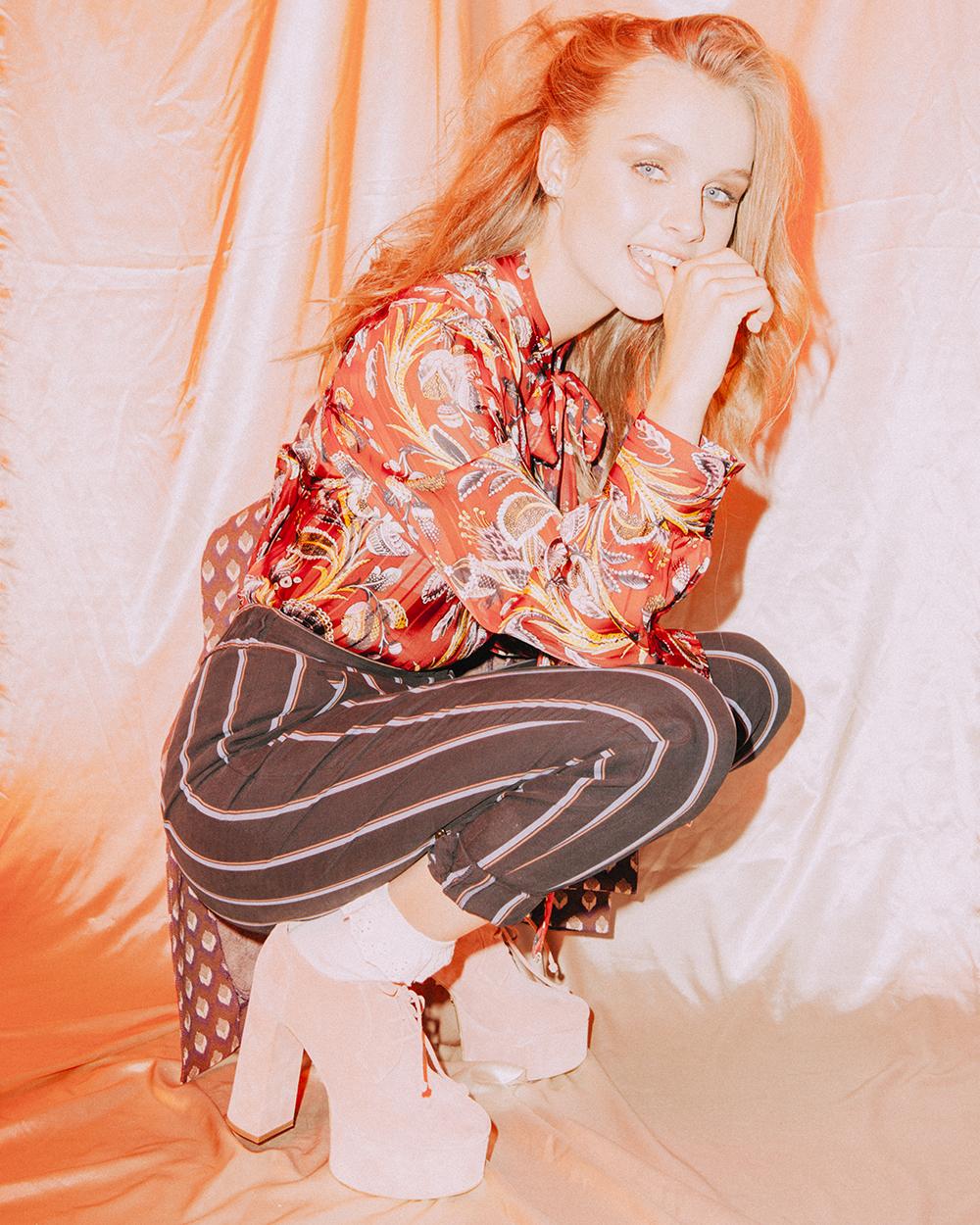 Olivia DeJonge x NYLON