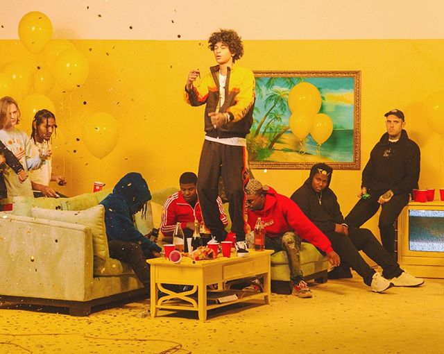 Directed something so fun last week with the Interscope fam 💛 for king @trillsammy ! DP @russfraser prod. by @johnnycaptures set design by Alexis Rose 💛 cannot wait to share. BTS pic by @alexxfigs 💛