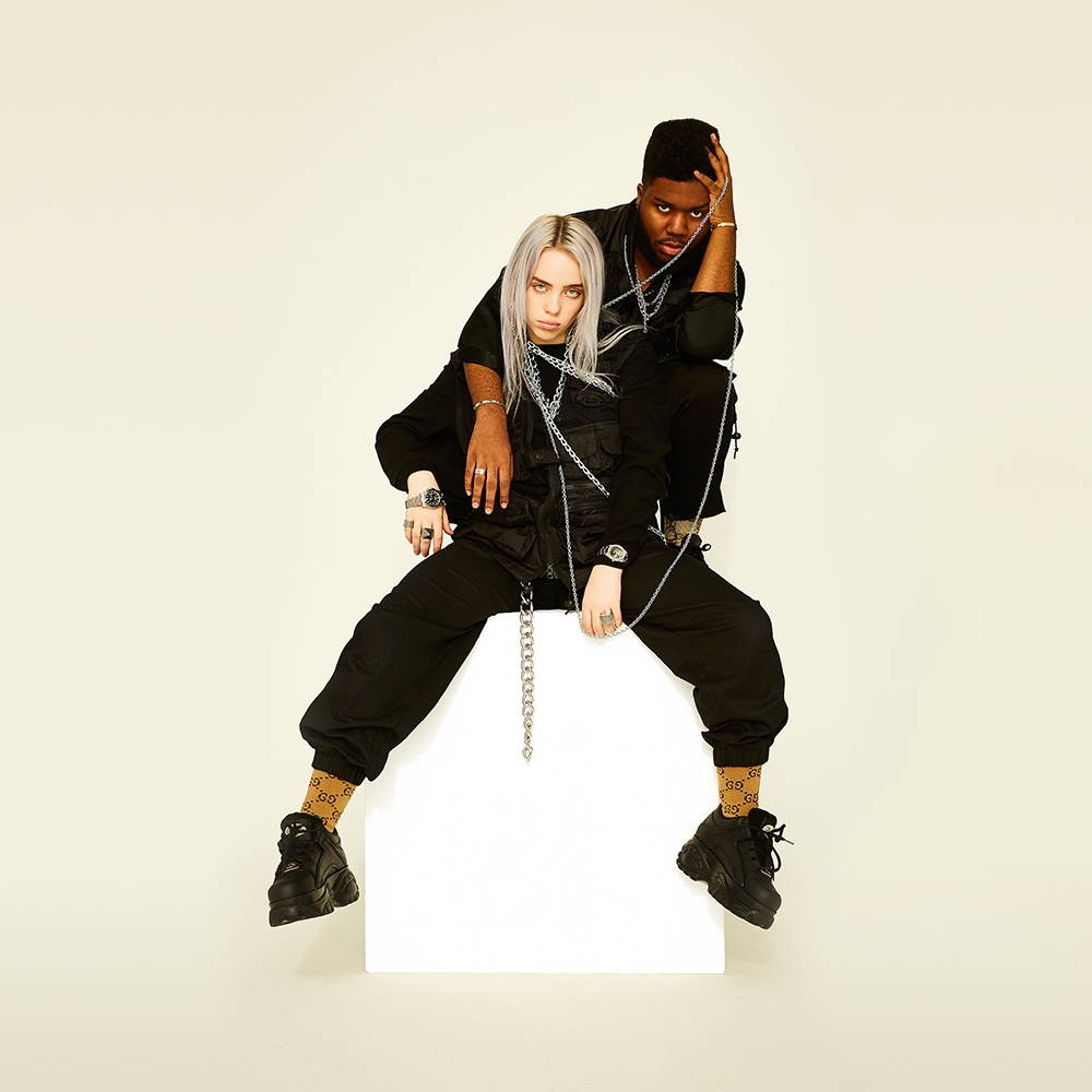 "Billie Eilish x Khalid ""Lovely"" Cover Art"
