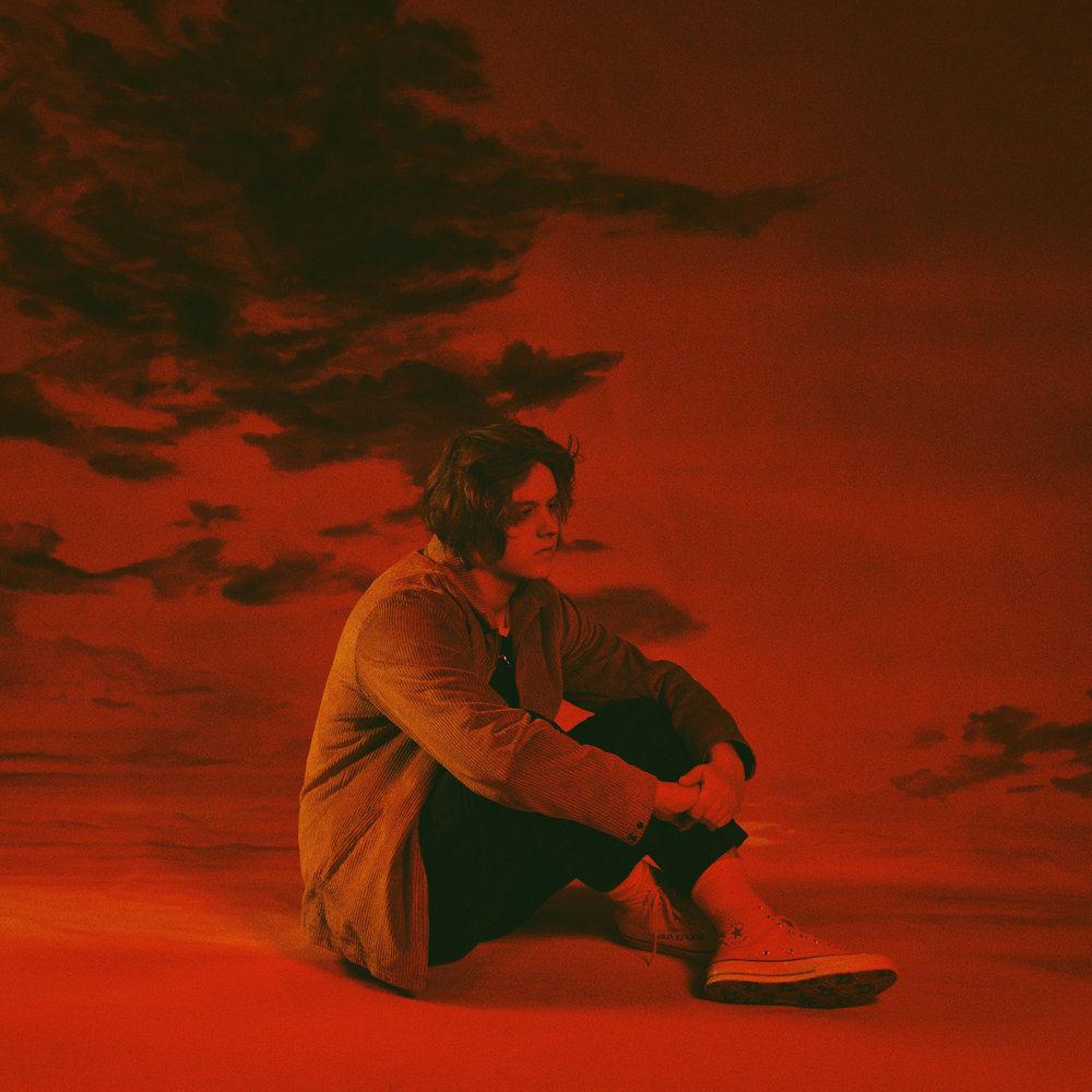 "Lewis Capaldi x ""Divinely Uninspired to a Hellish Extent"" album cover x Virgin EMI"