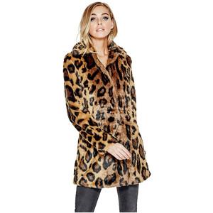 Abigail Leopard Guess Coat