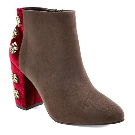 Diamond by FarylRobin Fawcett Embellished Heel Ankle Boots