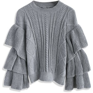 Chicwish Cable Knit Sweater