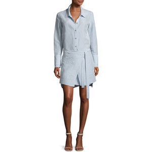 Halston Heritage Shirt Dress