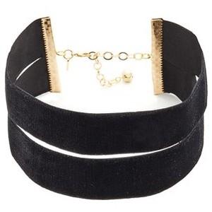 Vanessa Mooney The Effie Velvet Choker Necklace