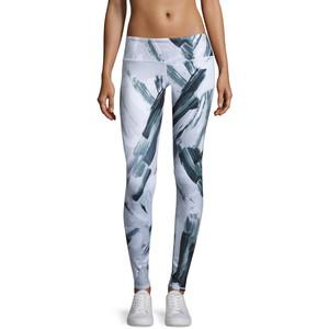 Alo Yoga Airbrush Sport Leggings, Modernist Black/White